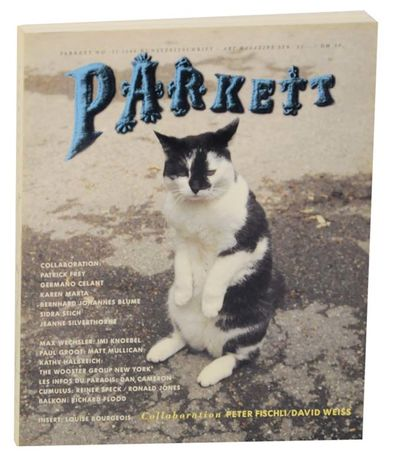 Zurich, Switzerland: Parkett, 1988. First edition. Softcover. Text in English and German. An issue o...