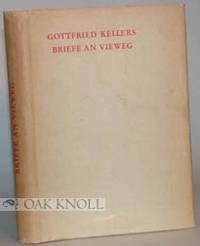 Zürich: Corona, 1938. cloth, dust jacket. Vieweg, Friedrich. 8vo. cloth, dust jacket. 191, (3) page...