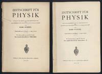 (1) Zur Quantendynamik der Wellenfelder. 2) Zur Quantentheorie der Wellenfelder. II.
