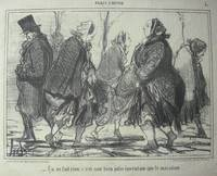 Paris L'Hiver No. 1 'Ca ne fait une bien jolie invention que le macadam!' Walking on uneven pavement