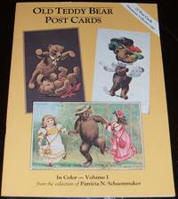 image of Old Teddy Bear Postcards in Color 27 Reproduction Postcards Volume 1