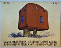 Claes Oldenburg at Sidney Janis English Plug (Offset Lithograph Exhibition poster