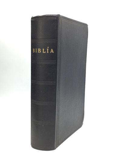 Reykjavik: A Kostand Hins Brezka Og Erlenda Bibliufelags, 1923. Hardcover. Very good. The Holy Bible...