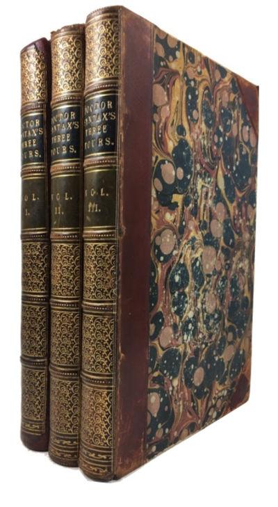 London: Nattali and Bond, 1855. 9th ed. Hardcover. Very Good. Thomas Rowlandson. 3 volumes. 80 print...