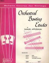 Orchestral Bowing Etudes, Viola