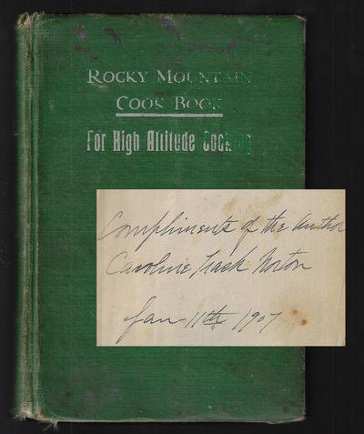 Denver: Caroline Trask Norton. Hardcover. Good. Title page undated, copyright 1903. Preface includes...