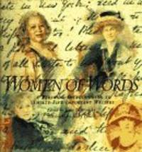 WOMEN OF WORDS:  A Personal Introduction to Thirty-Five Important Writers by Editor-Janet Bukovinsky Teacher; Illustrator-Jenny Powell - Hardcover - 1996 - from Extraordinary Books LLC (SKU: 242)