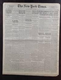 image of NEW YORK TIMES WALL STREET PRE-STOCK MARKET CRASH HIGHEST PEAK 1929