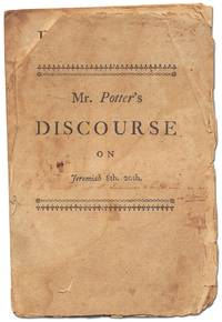 A Discourse on Jeremiah 8th, 20th preached on the Lord's Day morning, Jan. 1, 1758 at Brookline: wherein is briefly attempted a Discovery of the Causes of our late National Calamities, Disappointments, and Losses; ..