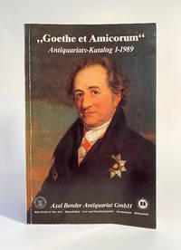 Goethe et Amicorum / Antiquariats Katalog 1 (1989)