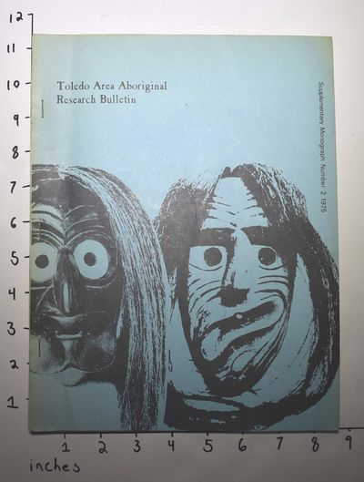 Toledo, Ohio: University of Toledo, 1975. Paperback. Good+ tight copy with a very few pencil check m...