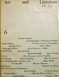 Art and Literature 6 (Signed by Artist Nell Blaine)