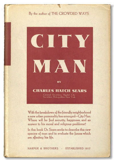 New York: Harper & Brothers Publishers, . First Edition. Hardcover. Octavo (19.5cm.); original cloth...
