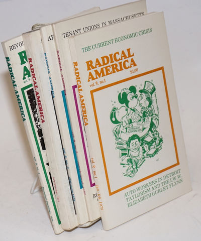 Madison: Radical America, 1975. Five issues of the magazine, a complete run for the yera 1975, with ...