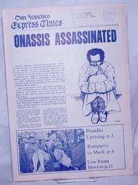 image of San Francisco Express Times, vol.1, #40, October 23, 1968.