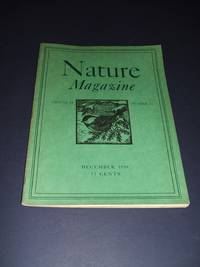 image of Original Vintage Issue of Nature Magazine for December 1939
