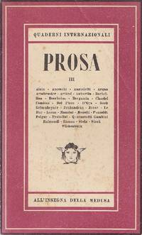 Quaderni internazionali. Prosa. Quaderno III, 1946
