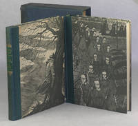 Wuthering Heights and Jane Eyre: Two Volume Box Set with Slip Case by Random House by Emily Bronte; Charlotte Bronte; Wood Engravings by Fritz Eichenberg [Illustrator] - 1943