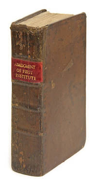 An Abridgment of the First Part of My Ld. Coke's Institutes.. by  Editor  William  - 1714  - from The Lawbook Exchange Ltd (SKU: 67360)