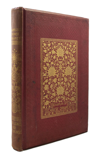 First Edition in Original Cloth. Complete with 100 Beautiful Chromolithographs Featuring Chinese Des...