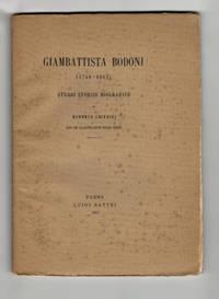 image of Giambattista Bodoni (1740-1813). Studio Storico Biografico