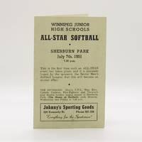 image of Winnipeg Junior High Schools All-Star Softball