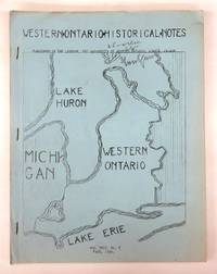 Western Ontario Historical Notes Fall 1966
