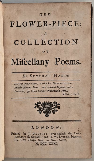 POETICAL MISCELLANY