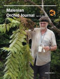 Malesian Orchid Journal Vol 23 (2019) by Andre Schuiteman (ed) - Paperback - 2019 - from The Penang Bookshelf (SKU: ML4324)