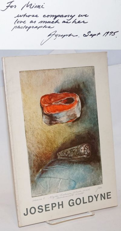 San Francisco: Quay Gallery, 1975. Paperback. 34p., artwork reproduced fullpage and double-sided, wi...