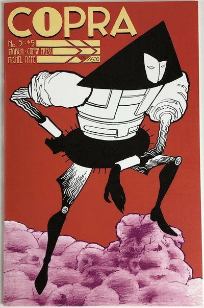 Copra Press, 2013. Limited Edition. Saddle-stitched. NM-; Minor wear along spine; Limited Edition #4...