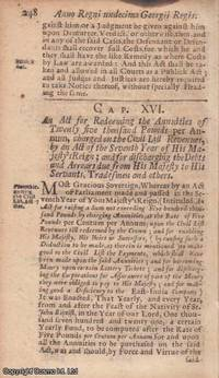 NATIONAL DEBT ACT 1724 c. 16. An Act for Redeeming the Annuities of ?ú25000 per...