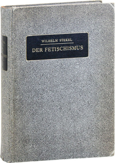 Berlin: Urban & Schwarzenberg, 1923. First Edition. Hardcover. Octavo (24cm). Original textured pape...