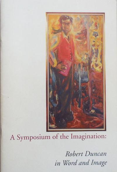 Buffalo: The University at Buffalo, 1993. First edition. Paperback. Near Fine. Stapled quarto. 48 pp...