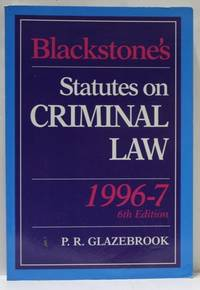 Statutes On Criminal Law