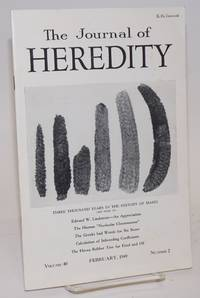 image of The journal of heredity, volume 40 number 2 February, 1949