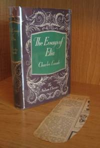 The Essays of Elia. Last Essays of Elia. Popular Fallacies. [The Nelson Classics] with Ephemera. by  Charles Lamb - Hardcover - from Ravenroost Books and Biblio.com