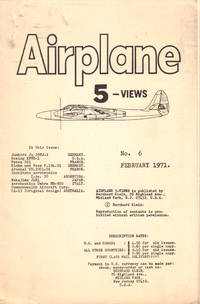 Airplane 5 Views Number Six February, 1971