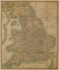 Cary's Reduction of his Larger Map of England and Wales with Part of Scotland; Containing the whole of the Turnpike Roads, the Principal Rivers & the course of the idfferent Navigable Canals..