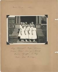 image of Original scrapbook belonging to a nursing student, circa 1937
