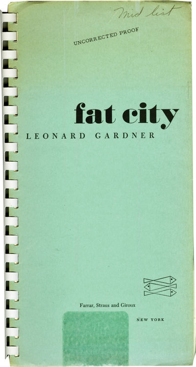 New York: Farrar Straus and Giroux , 1969. First Edition. UNCORRECTED PROOF, preceding the First Edi...