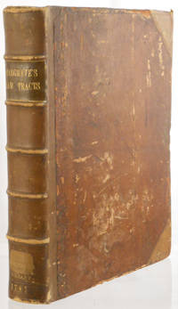 A Collection of Tracts Relative to the Law of England, from Manuscripts, Now First Edited [etc.]. Volume 1 [all published] [without the errata] by Francis Hargrave - 1787 - from Meyer Boswell Books, Inc. (SKU: 77563)