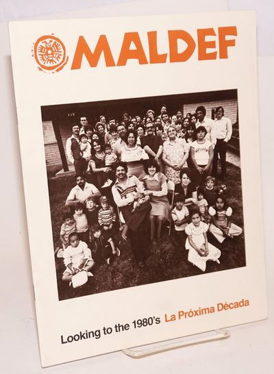 San Francisco: MALDEF, 1979. 24p., 8.5x11 inches, illustrated with photos and tables, very good repo...