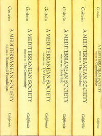 A Mediterranean Society: 6 Volume Set by  S.D Goitein - Paperback - 1999 - from Goulds Book Arcade (SKU: 24391)