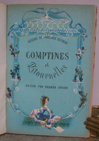 COMPTINES ET RITOURNELLES. by  Francoise (illustrator).  Music by Andree Onden.: ESTACHY - First Edition - from Roger Middleton (SKU: 34951)
