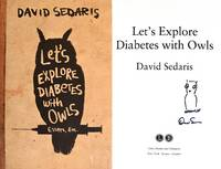 Let's Explore Diabetes with Owls **SIGNED & DOODLED, 1st Ed /1st Printing**
