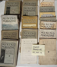 Mining Magazine; an international monthly review of current progress in mining and metallurgy