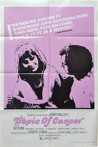 image of Tropic of Cancer (Original poster for the 1970 film)