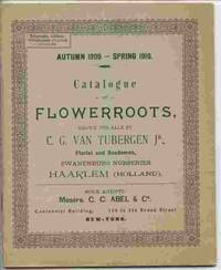 Catalogue Of Flowerroote, Grown For Sale By..., Florist And Seedsman,  Zwanenburg Nurseries, Haarlem (holland). Autumn 1909-spring 1910