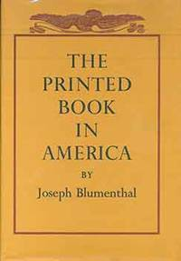 image of The Printed Book In America